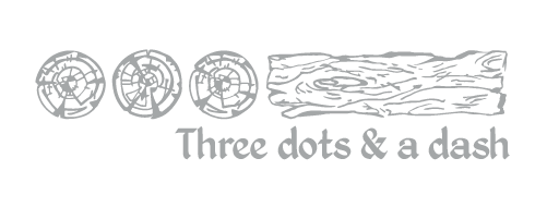Three Dots and Dash Logo