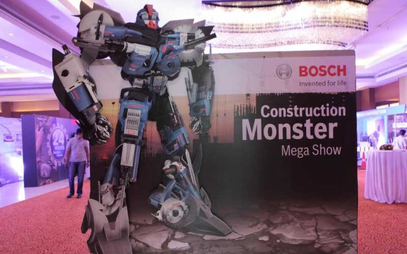 Bosch Construction Monster